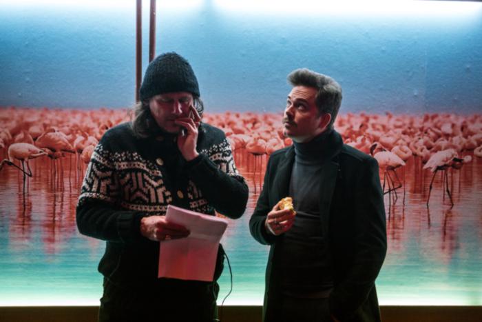 director Guido Van Driel & actor Teun Luijkx