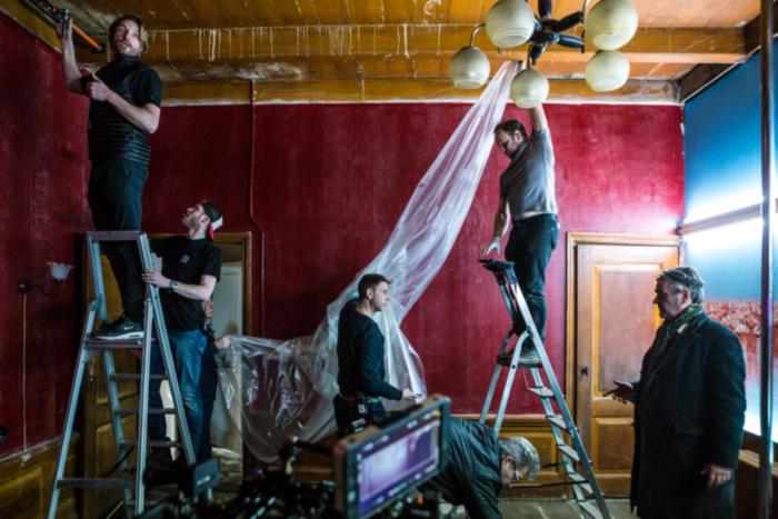 still life on set