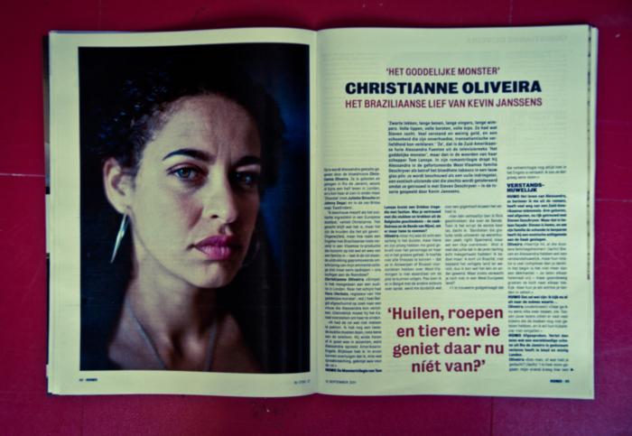 Christianne Oliveira shot by NyklyN, Humo, Het Goddelijke Monster