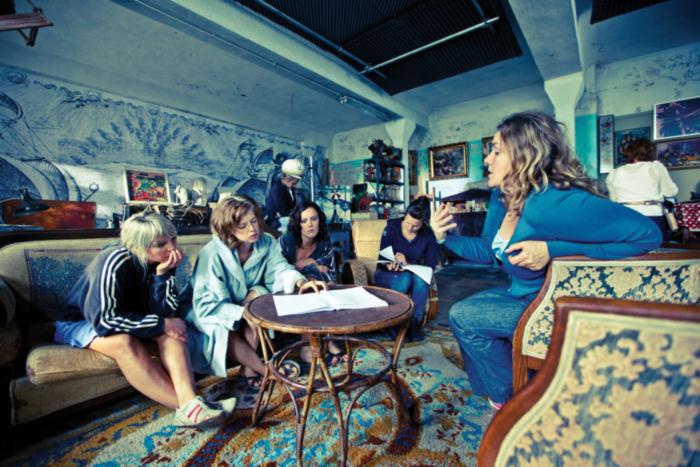 Ellen Schoeters, Maaike Neuville, Marieke Dilles, Eline Kuppens, Ilse Somers