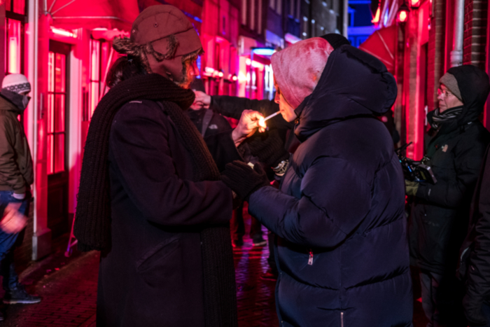 director Guido Van Driel & actress Susanne Wolff