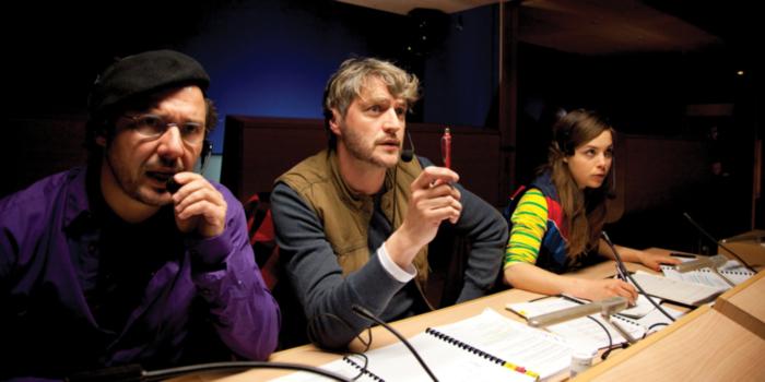 Axel Daeseleire, Kurt Rogiers en Eline Kuppens